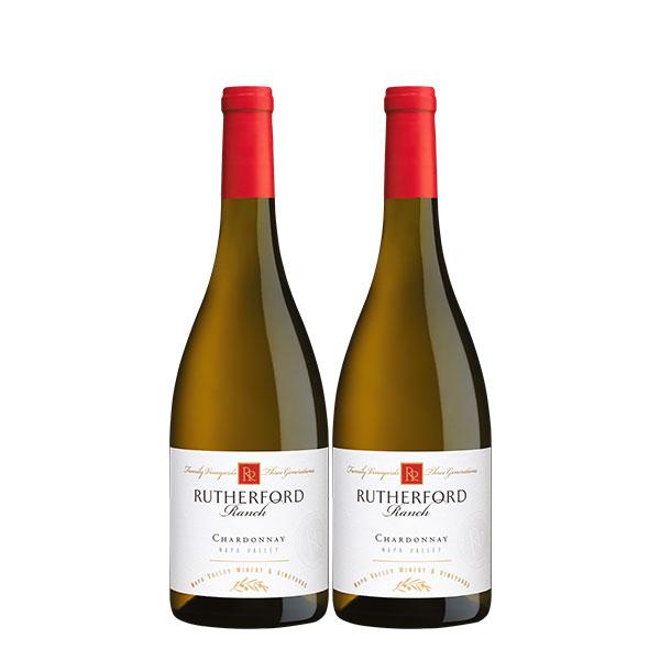 Rutherford Ranch Chardonnay Napa Valley 750 ml x 2 botellas