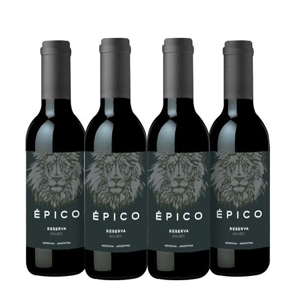 epico reserva 375 ml x 3 botellas