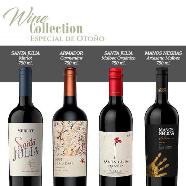 wine collection especial de otoño