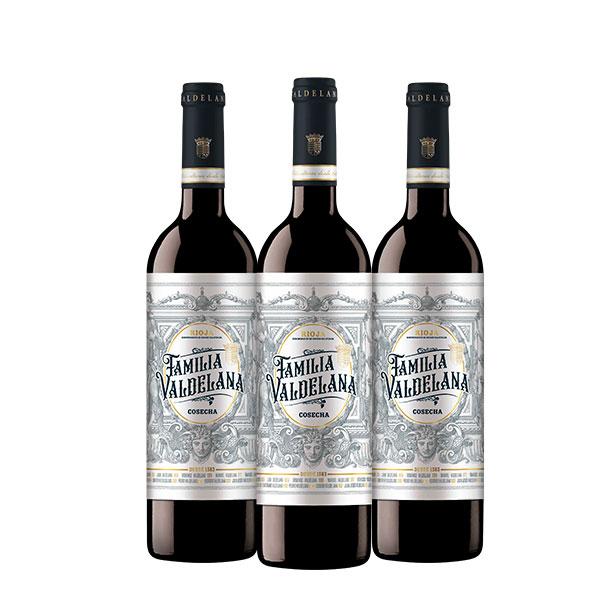 Familia Valdelana Cosecha x 3 botellas