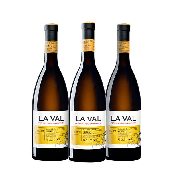La Val Fermentado en Barrica 750 ml x 3 botellas