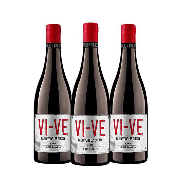Valdelana VI VE tinto Maceración Carbónica x 3 botellas