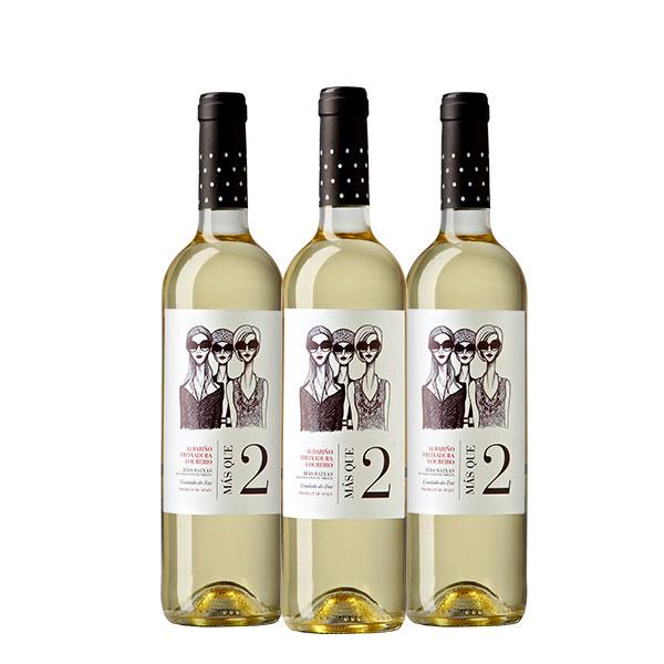 la val Botella Mas Que Dos 750 ml x 3 botellas