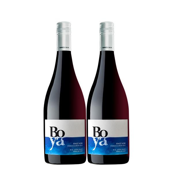 Boya Pinot Noir 750 ml x 2 botellas