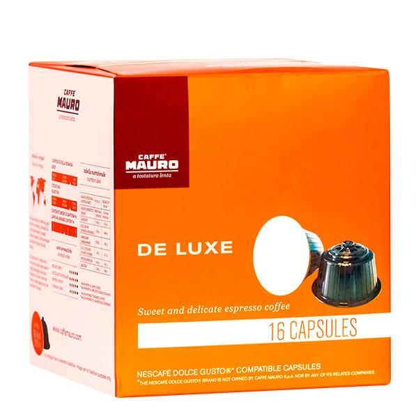 Caffe Mauro De Luxe capsulas de cafe