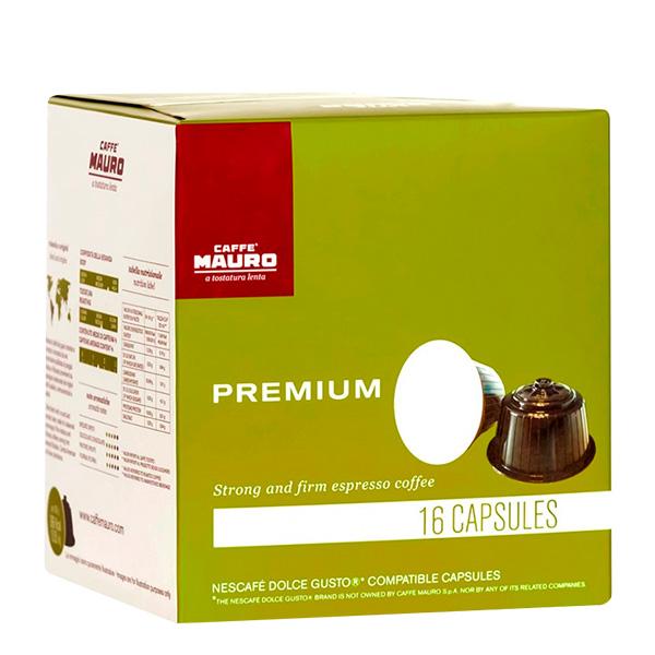 Caffe Mauro Premium capsulas de cafe