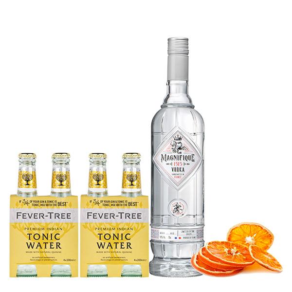 Magnifique 2 four packs indian tonic naranja deshigratada