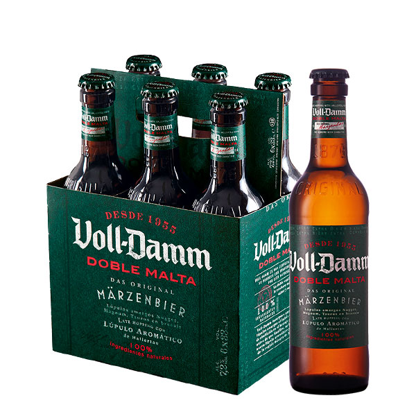 Voll Damm Six Pack 330 ml