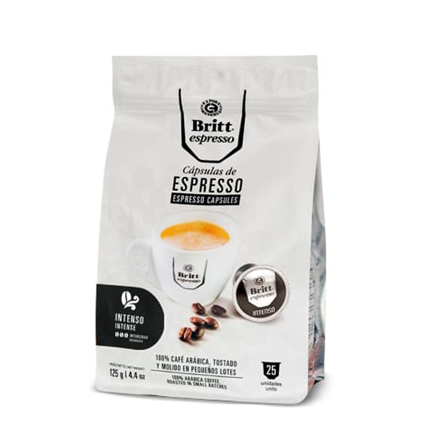 Britt Espresso Intenso 25 cápsulas