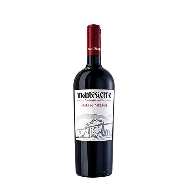 Vino Montesierpe Malbec Merlot 750 ml
