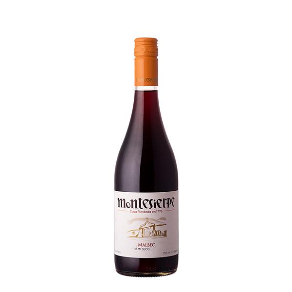 Vino Montesierpe Malbec Semi Seco 750 ml