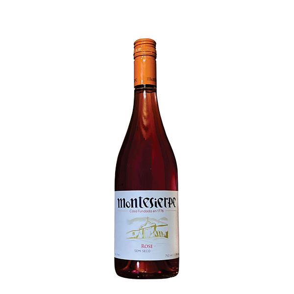 Vino Montesierpe Rose Semi Seco 750 ml