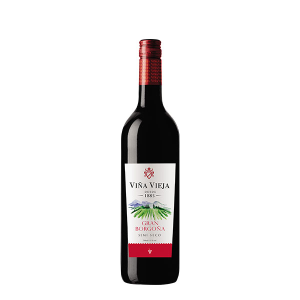 Vino Viña Vieja Gran Borgoña 750 ml