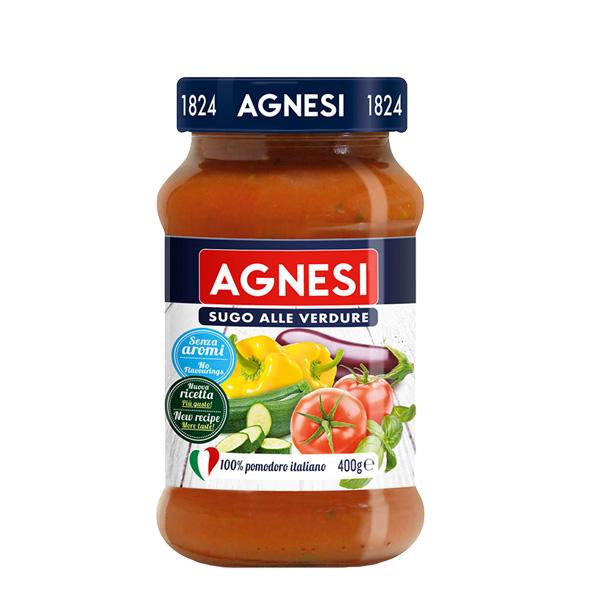 agnesi salsa pomodoro verdure 400g