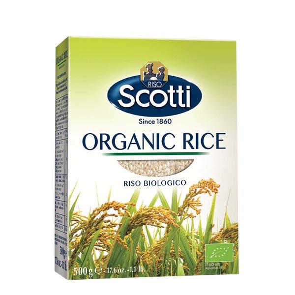 Riso Scotti Organic Rise Riso Biologico 500 g