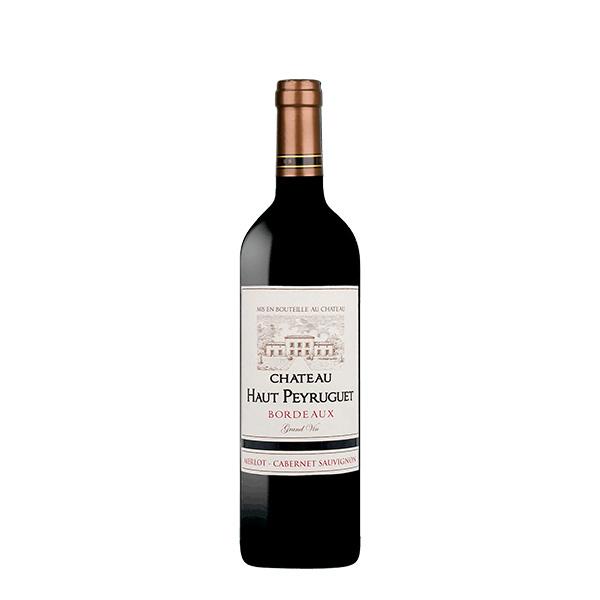 Chateau Haut Peyruguet Bordeaux merlot cabernet sauvignon 750 ml