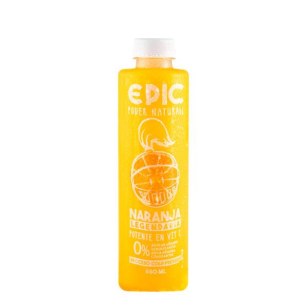 Jugo Epic NARANJA 880 ml