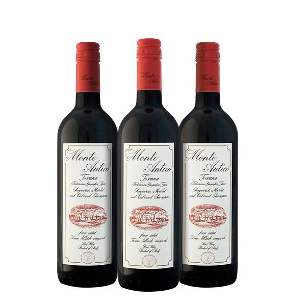 Monte Antico 750 ml x 3 botellas