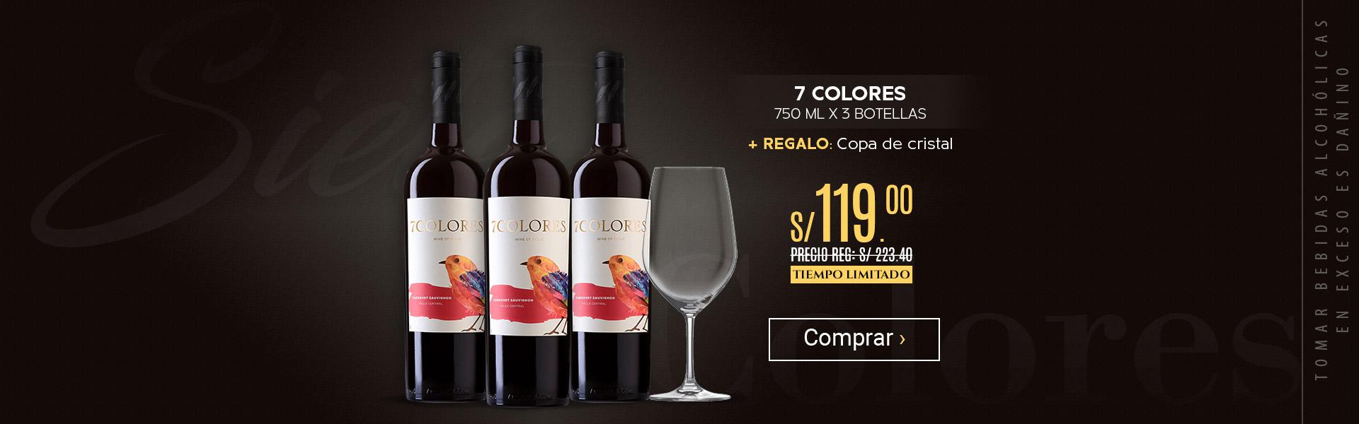 7 Colores + copa