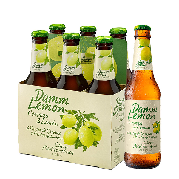 Damm Lemon six pack 250 ml
