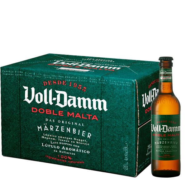 Voll Damm Six Pack 330 ml x 24 botellas