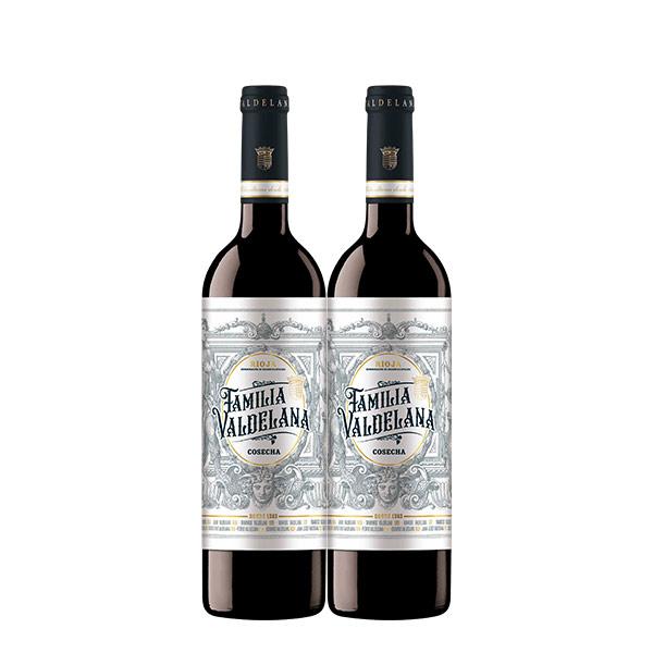 Familia Valdelana Cosecha 750 ml x 2 botellas