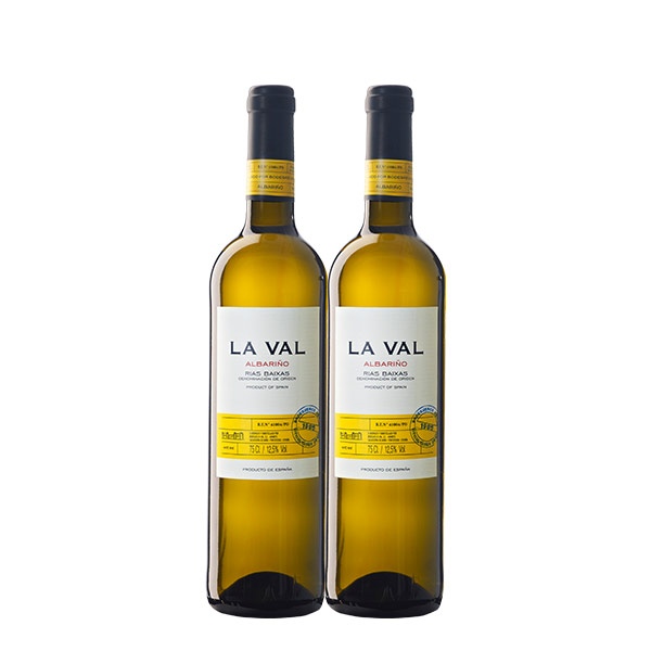 La Val Albarino 750 ml x 2 botellas