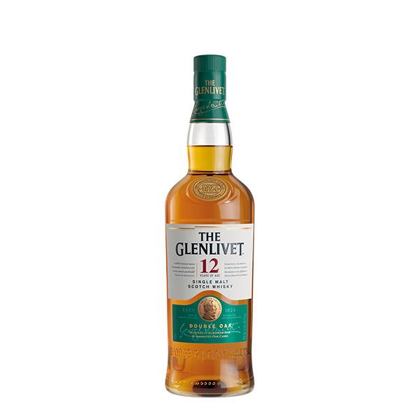 The Glenlivet Double oak 12 anos