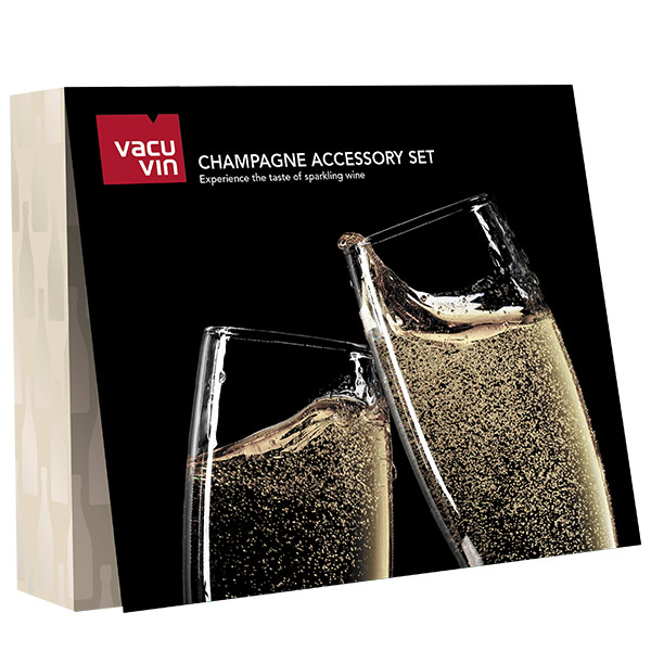 Vacuvin Champagne Accesori Holiday set
