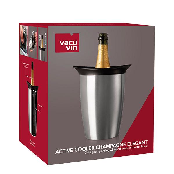 Vacuvin base cubitera active cooler champagne elegant
