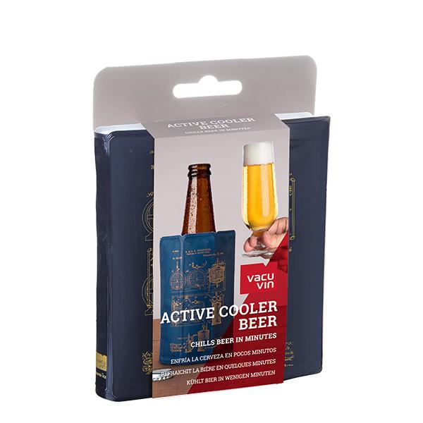Vacuvin funda enfriadora cerveza active cooler modelo artesanal